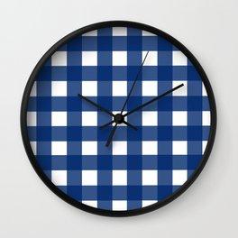 Gingham Girl Wall Clock