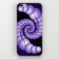 hook iPhone & iPod Skins featuring Julia's Hook by artsytoocreations