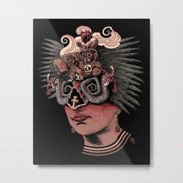 Chacmool Metal Print