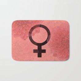 Female Symbol Bath Mat