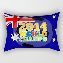 2014 World Champs Ball - Australia Rectangular Pillow