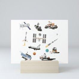 Spacecraft Mini Art Print
