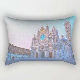Elegant Duomo of Siena, Italy Rectangular Pillow