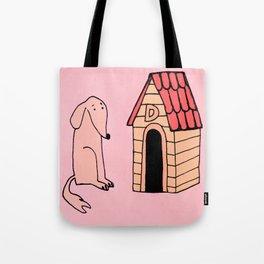 Dog House Tote Bag