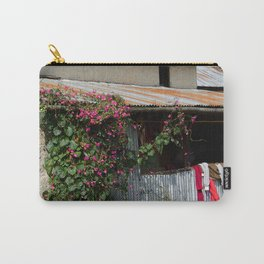 RUSTIC FRONT PORCH IN NEPALI BLOOM Carry-All Pouch