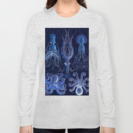Haeckel Octopi Long Sleeve T-shirt
