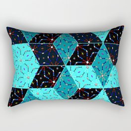kaleidoscube Rectangular Pillow