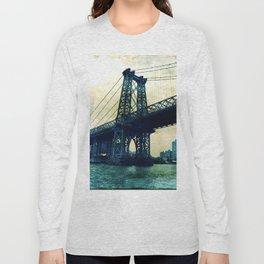 pylon williamsburg bridge Long Sleeve T-shirt