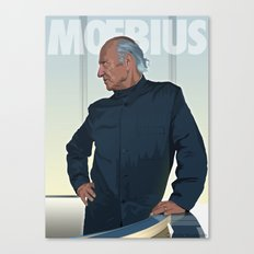 Moebius - Portrait Canvas Print