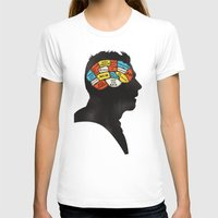 shaun of the dead T-shirts featuring Shaun Phrenology by Wharton
