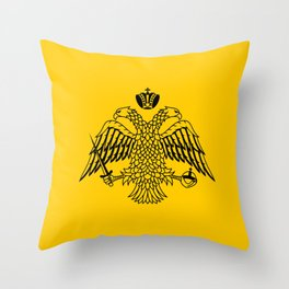 flag of the Greek Orthodox Church Throw Pillow