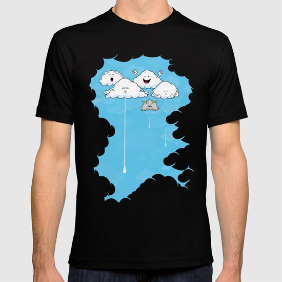Young Clouds fooling around T-shirt