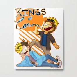 KINGS OF CON Metal Print
