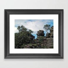 Brimham Rocks Framed Art Print