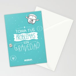 Gravedad Stationery Cards