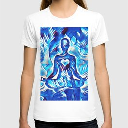 Meditation with Love and Light T-shirt