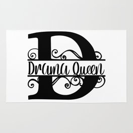 D is For Drama Queen Rug