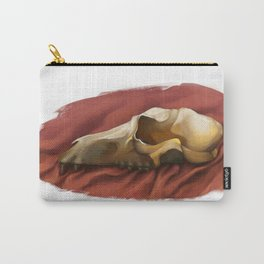 Canine skull Carry-All Pouch