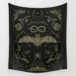 Cemetery Nights Wall Tapestry