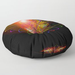 Magical Light and Energy 3 Floor Pillow