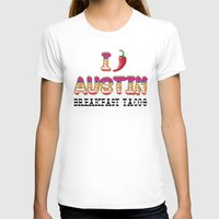chile T-shirts featuring I chile Austin by Black Oak ATX