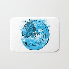 Dragon Waves Bath Mat