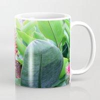 brasil Mugs featuring Brasil by Rafael Baumer