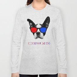 3D Terror  Long Sleeve T-shirt