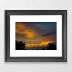 Laingsburg Sunset Framed Art Print
