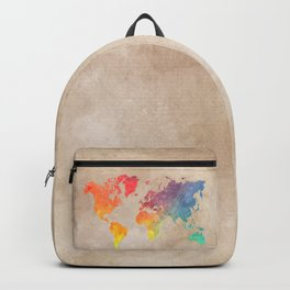 World Map Maps #map #maps #world Backpack