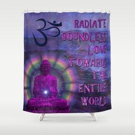 Boundless Buddha Shower Curtain