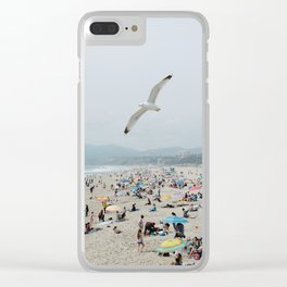 Beach Life Clear iPhone Case