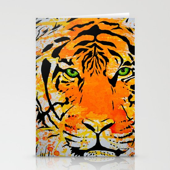 Tiger Too Stationery Cards