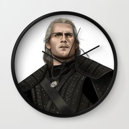 Witcher of Rivia Wall Clock