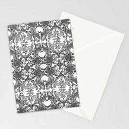 Ornament - Tree of Life - Rebirth - Mehndi Love - White #4 Stationery Cards