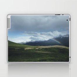 Snowy mountains and rainbows Laptop & iPad Skin