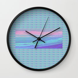 Piha Wave 3 Wall Clock