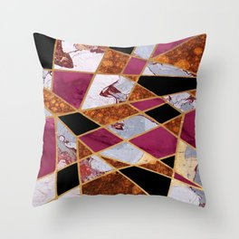 Abstract #448 Throw Pillow