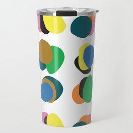 Modern Faces Travel Mug