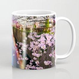 Cherry Blossom in pink   Japan Nakameguro River Coffee Mug