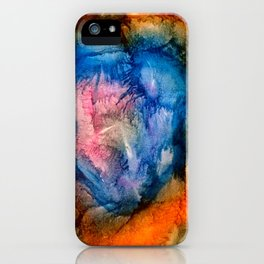 Trace Out The Heart iPhone Case