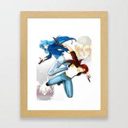 Service's Code Framed Art Print