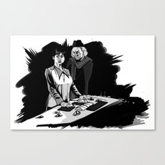 1rst Doctor & Susan... Canvas Print
