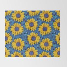 Sunflower Decke