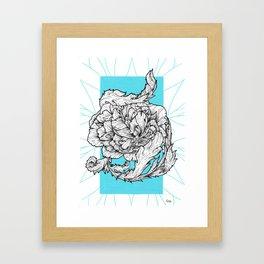 Acanthe&Pivoine Framed Art Print