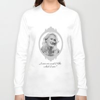 ashton irwin Long Sleeve T-shirts featuring Madeline Ashton- Death Becomes Her/ Meryl Streep by BeeJL