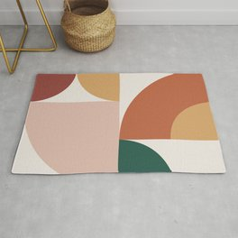 Abstract Geometric 13 Rug