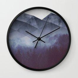 Winter Glory Wall Clock