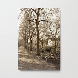 A lonely world Metal Print