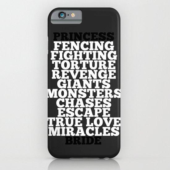 Princess Bride iPhone & iPod Case